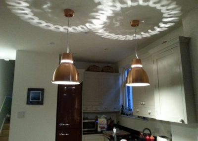 Nice splash effect on ceiling in Herne Hill