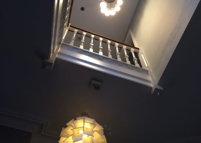 Retro 1970s style light in West Dulwich