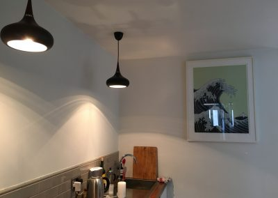 Kitchen lighting in Peckham